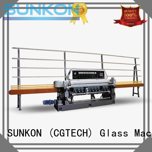 glass beveling machine for sale display manual SUNKON Brand