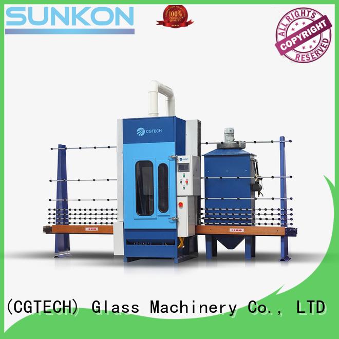 Hot automatic sandblasting machine manufacturers autoglass machine sandblasting SUNKON Brand