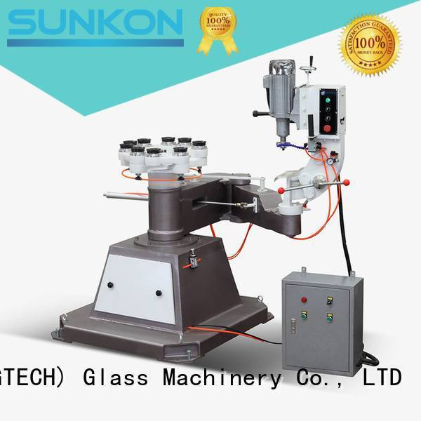 SUNKON Brand edging grinding circles glass shape edger