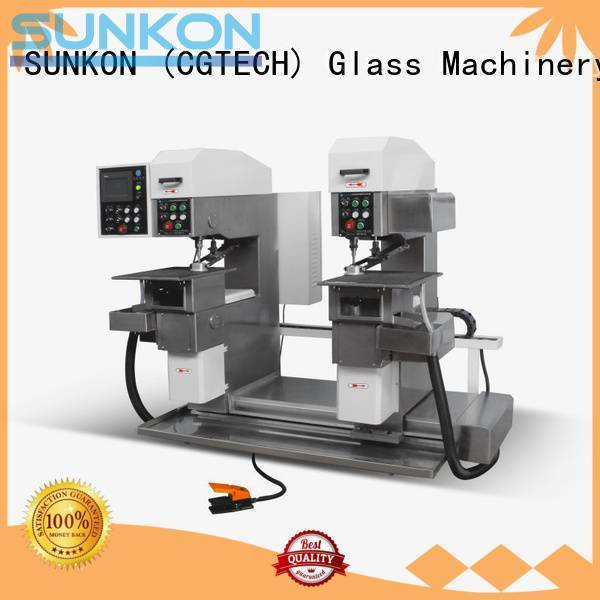 SUNKON Brand configuration glass drilling glass drilling machine standard