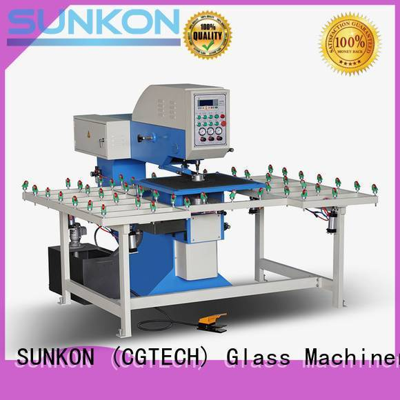 SUNKON drilling glass glass drilling configuration standard