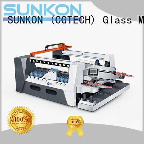 double glazing glass machine machine glass double edging machine SUNKON Brand