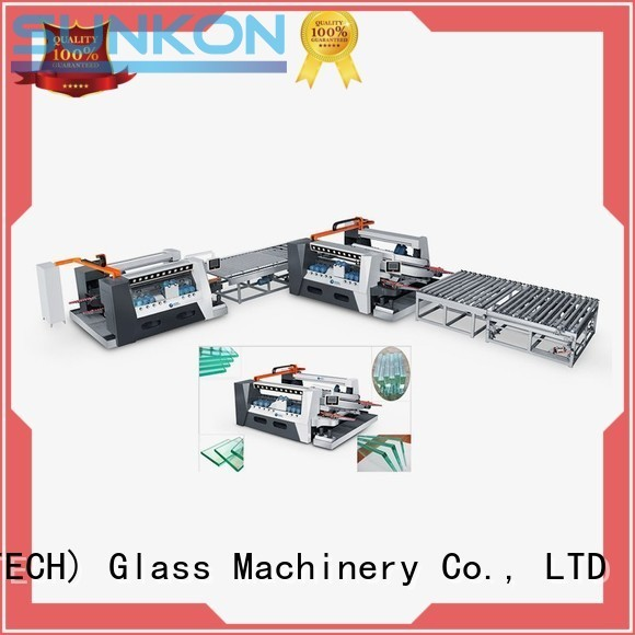 Wholesale line smart glass double edging machine SUNKON Brand