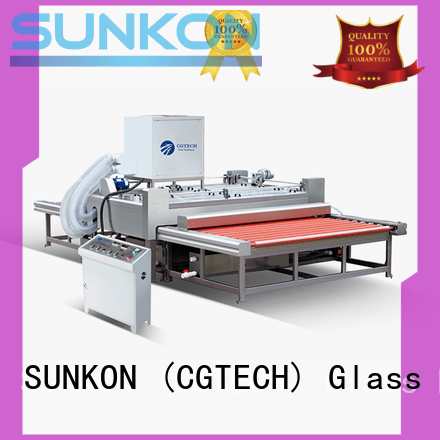 SUNKON Brand glass washing machine glass top washing machine machine
