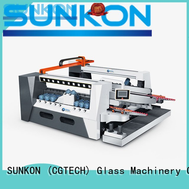 double glazing glass machine straight edging SUNKON Brand