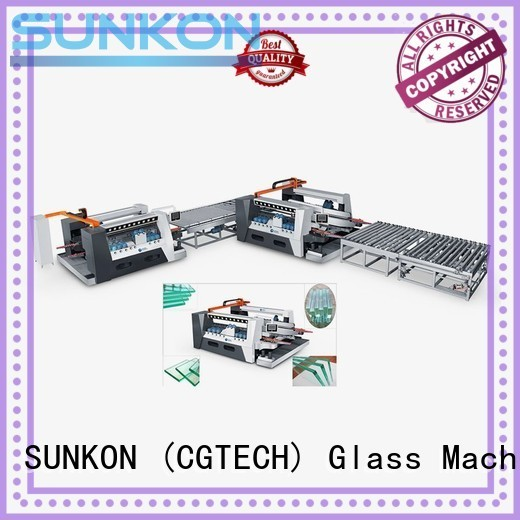 machine highspeed glass double edging machine smart SUNKON Brand company