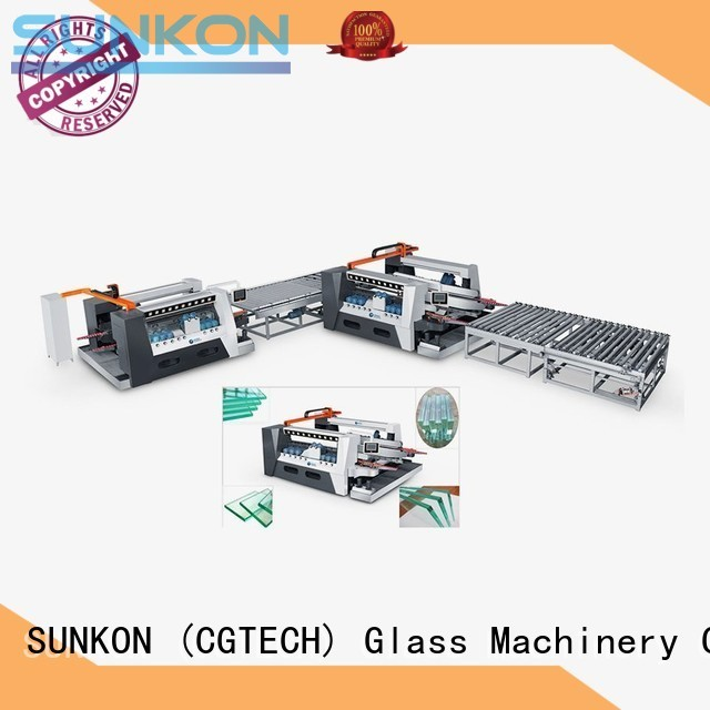 double glazing glass machine edging double glass double edging machine straight company