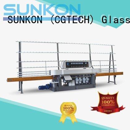 OEM straight line edger straight display glass straight line beveling machine