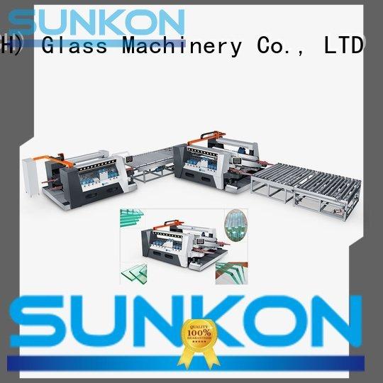 SUNKON Brand highspeed smart straight double glazing glass machine