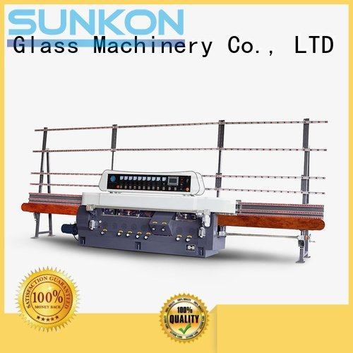 Hot glass straight line beveling machine machine vertical glass SUNKON Brand