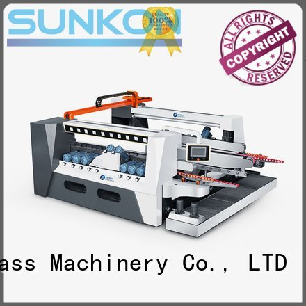 smart line double machine SUNKON glass double edging machine