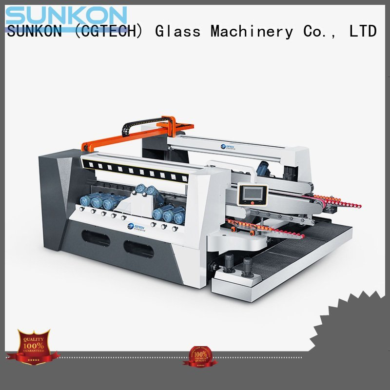 SUNKON edging glass double edging machine machine straight