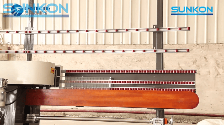 Glass Edging Machine Installation Video