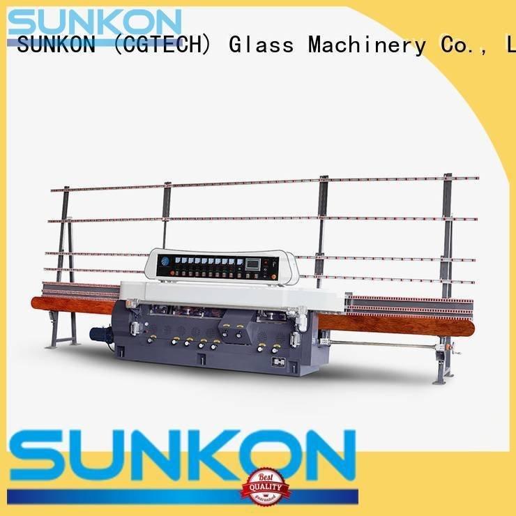 SUNKON Brand motors digital glass straight line beveling machine edging display