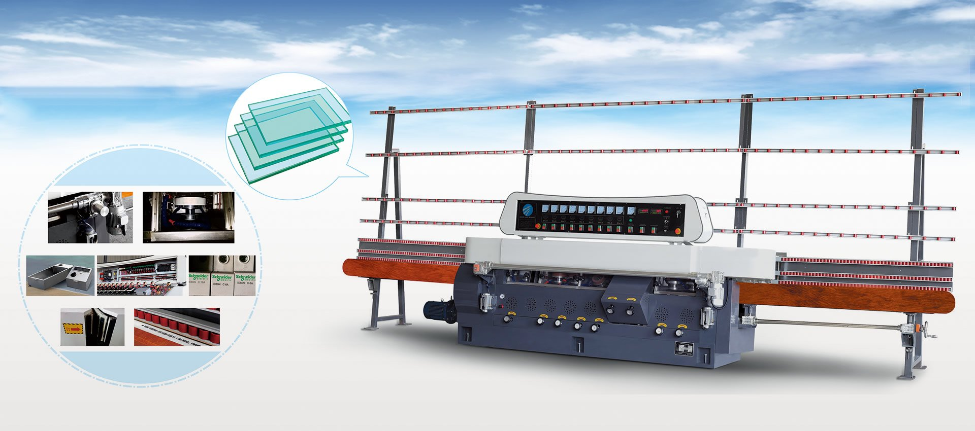 CUSTOMINZED GLASS DEEP-PROCESSING EQUIPMENTS EXPERT